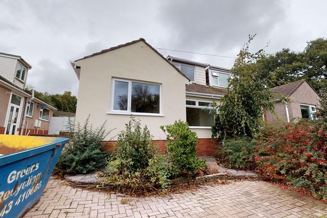 Thumbnail 3 bed semi-detached bungalow for sale in Gron Ffordd, Rhiwbina, Cardiff
