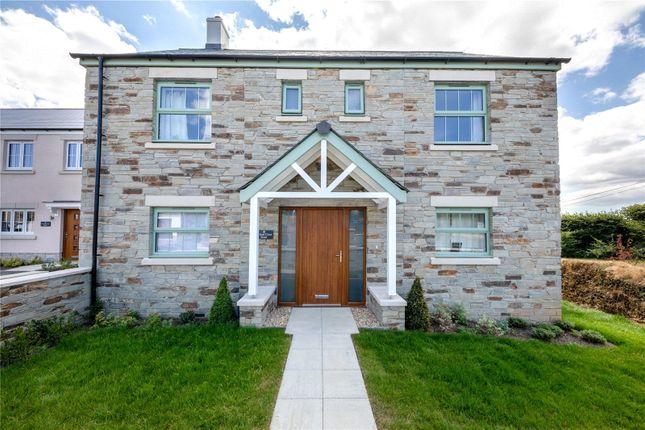 Thumbnail Detached house for sale in Trispen Meadows, Trispen, Truro