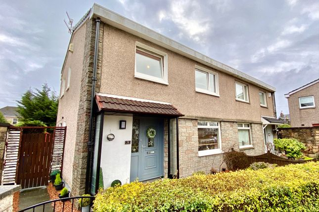 Thumbnail Semi-detached house for sale in Townend Road, Dumbarton, West Dunbartonshire