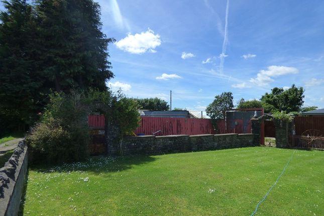 Thumbnail Land for sale in 15 Cae Rhys Ddu Road, Cimla, Neath .