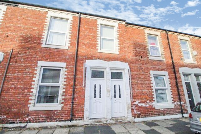 Thumbnail Flat to rent in Percy Street, Blyth