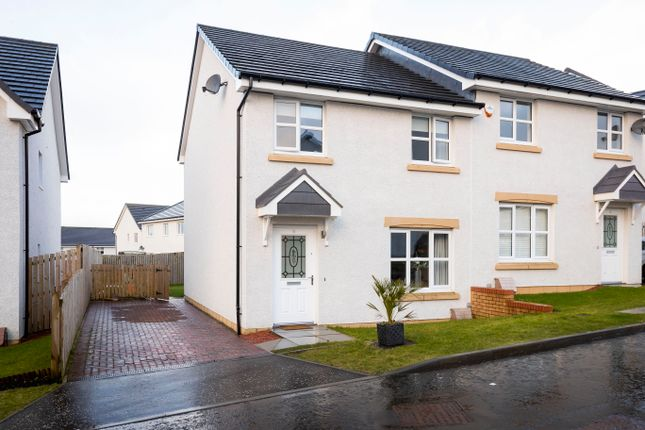 Thumbnail Semi-detached house for sale in Mill Lade Drive, Lenzie, Kirkintilloch, Glasgow