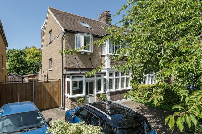 Thumbnail Semi-detached house for sale in Mostyn Road, Merton Park