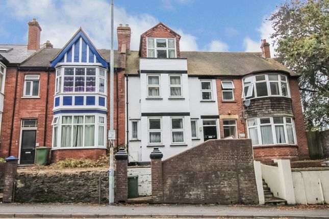 Thumbnail Terraced house to rent in St. Davids Hill, Exeter
