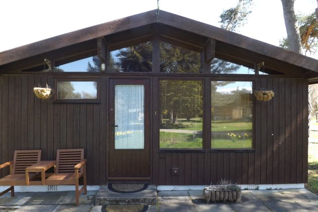 Thumbnail Lodge for sale in Heatherwood Park, Dornoch