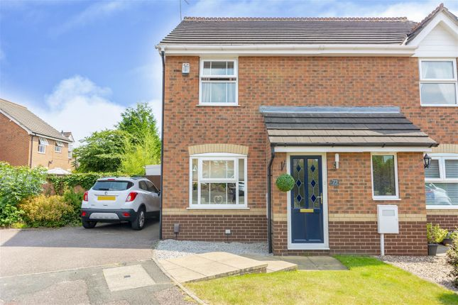 2 bed semi-detached house for sale in Lonsdale Drive, Toton, Beeston, Nottingham NG9