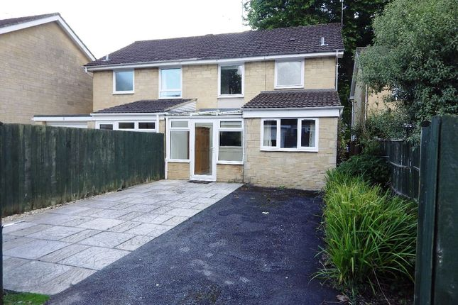Thumbnail Semi-detached house to rent in Blake Road, Cirencester