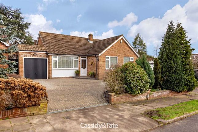 Thumbnail Detached bungalow for sale in Warren Road, St. Albans, Hertfordshire