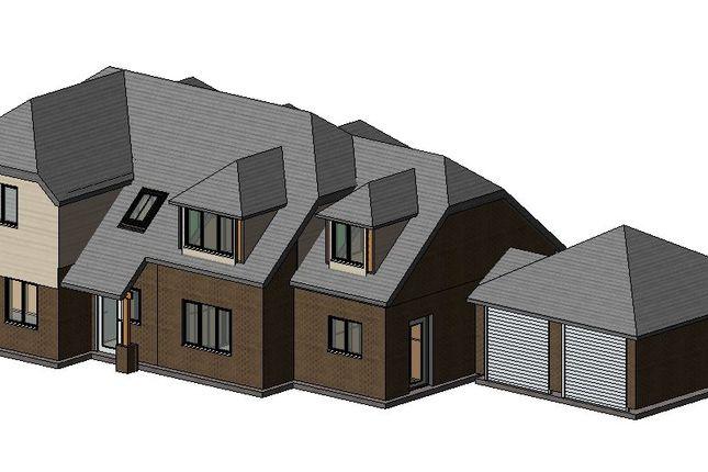 Thumbnail Detached house for sale in Basingbourne Road, Fleet