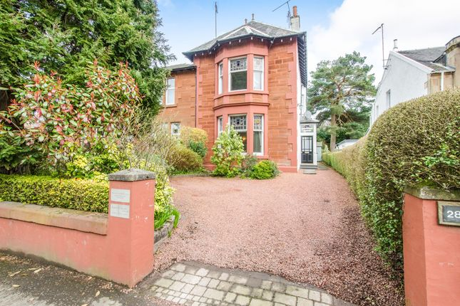 Thumbnail Link-detached house for sale in Fenwick Road, Giffnock, Glasgow