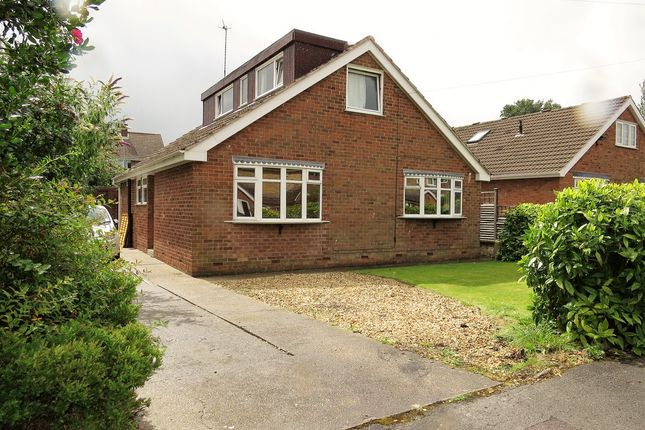 Thumbnail Detached bungalow for sale in Loxley Close, Chesterfield