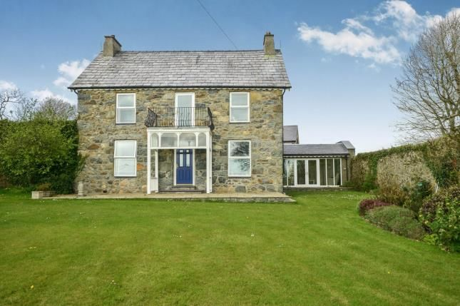 Thumbnail Detached house for sale in Llannor, Pwllheli, Gwynedd