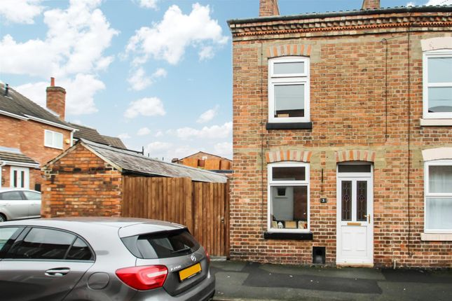 Thumbnail Town house for sale in Brookfield Street, Syston, Leicester