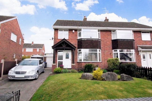 Thumbnail Semi-detached house for sale in Chapel Street, Forsbrook, Stoke-On-Trent