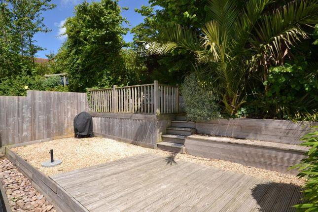 Decking Area of Oak Hill Cottages, Oak Hill, East Budleigh, Budleigh Salterton EX9