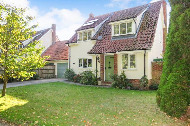 Thumbnail Detached house for sale in Green Lane, Quidenham, Norwich