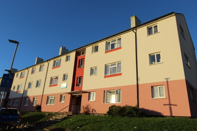 Thumbnail Flat to rent in Ross Street, Plymouth