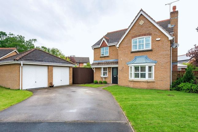 Thumbnail Detached house for sale in Carvel Way, Burscough, Ormskirk