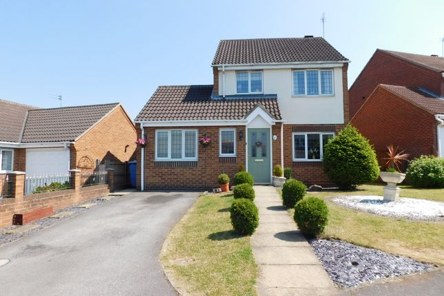 Thumbnail Detached house for sale in Rushpool Close, Forest Town, Mansfield