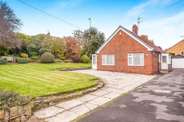 Thumbnail Detached bungalow for sale in Lowfield Road, Hemsworth, Pontefract