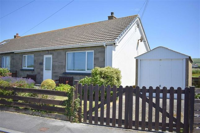 Thumbnail Semi-detached bungalow for sale in Albion Fields, Llanon, Ceredigion