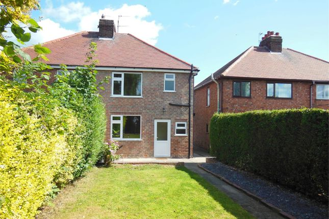 Thumbnail Semi-detached house for sale in Laceyfields Road, Heanor, Derbyshire