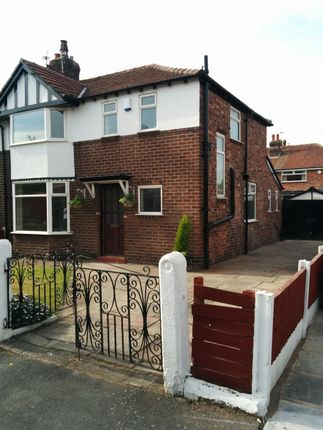 Thumbnail Semi-detached house to rent in Ridley Drive, Timperley, Altrincham