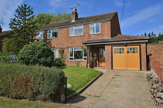 Thumbnail Semi-detached house for sale in Manor Road, Whitchurch On Thames, Reading