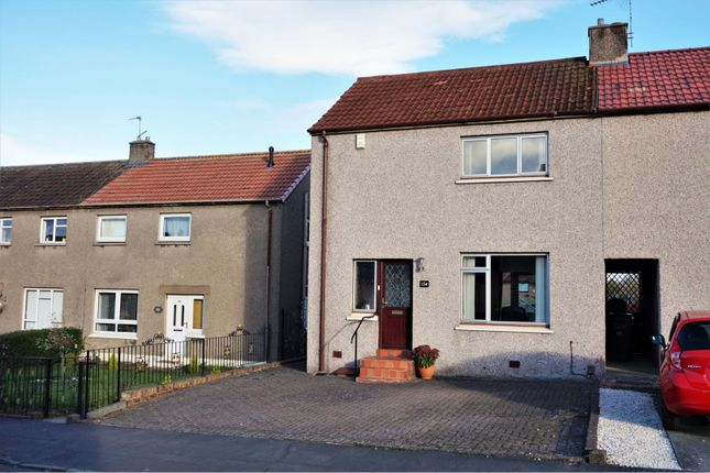 Thumbnail End terrace house for sale in Dallas Drive, Kirkcaldy