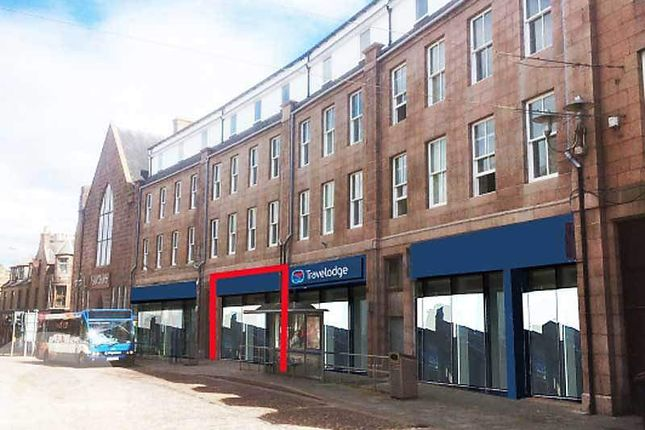 Retail premises to let in Chapel Street, Peterhead