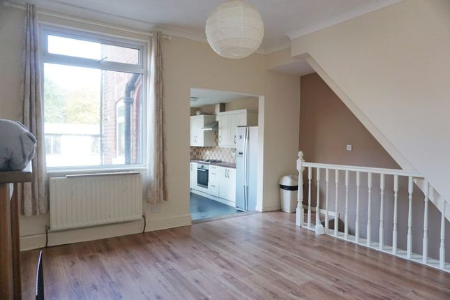 Thumbnail End terrace house to rent in Delamere Street, Manchester