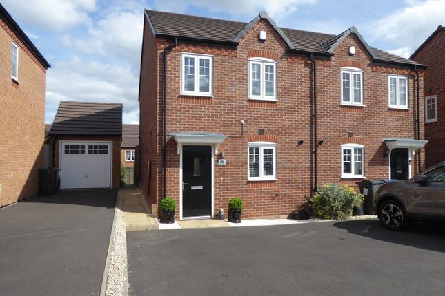 Thumbnail Semi-detached house for sale in Bartley Crescent, Northfield, Birmingham