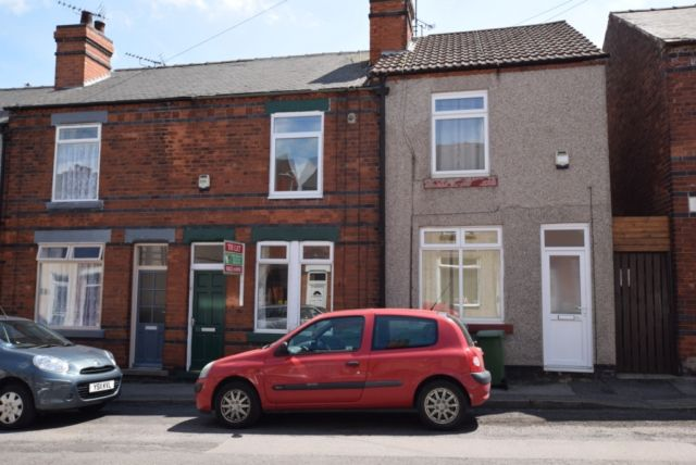 Thumbnail Terraced house to rent in Cromwell Street, Mansfield