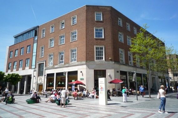 Thumbnail Flat to rent in Bedford Street, Princesshay Square, Exeter