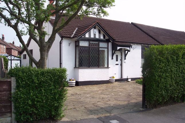 Thumbnail Detached bungalow to rent in Woodsmoor Lane, Woodsmoor, Stockport, Cheshire