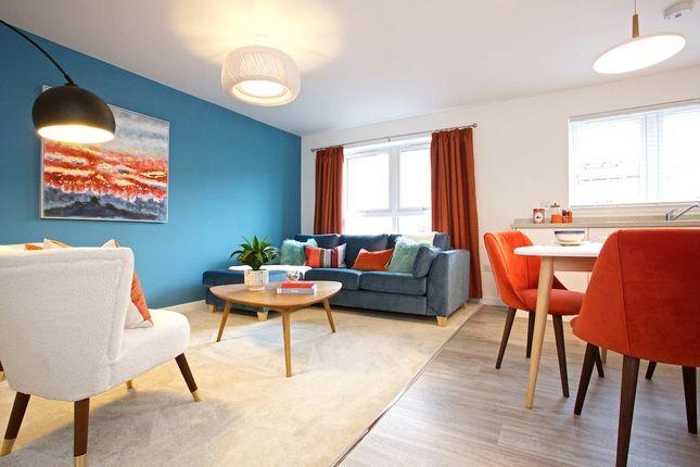 Lounge / Dining of Flat 9, Hulbert Court, Allison Crescent, Perth PH1