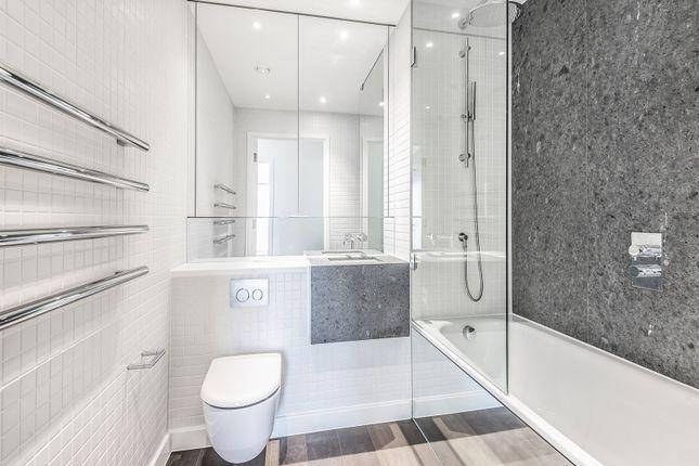 Bathroom of No. 2, Upper Riverside, Cutter Lane, Greenwich Peninsula SE10