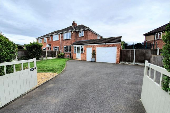 Thumbnail Semi-detached house for sale in St. Cuthberts Crescent, Albrighton, Wolverhampton