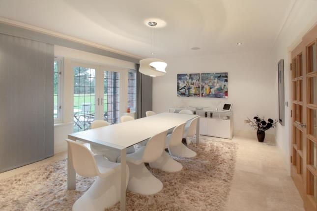 Dining Room of Chelford Road, Alderley Edge, Cheshire SK9