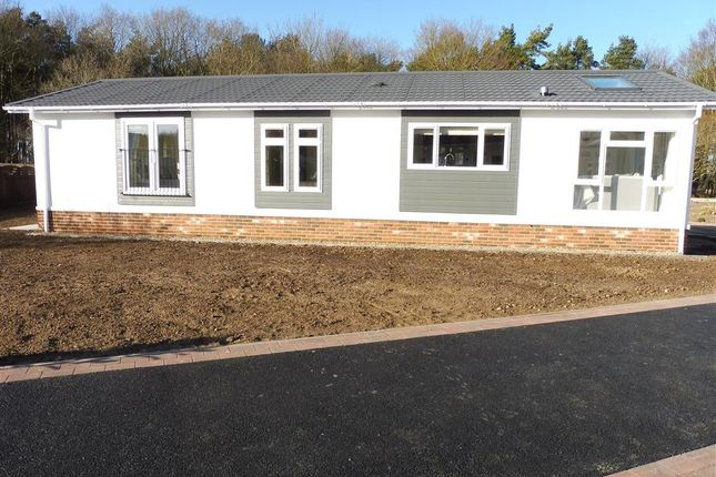 Thumbnail Mobile/park home for sale in Woodlands, Haveringland, Norwich