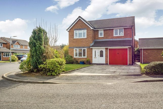 Thumbnail Detached house for sale in Highmeadow, Radcliffe, Manchester