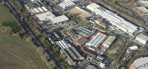 Thumbnail Warehouse to let in Plot 26B & 28, Terminus Road, Chichester