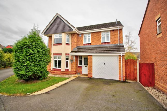 Thumbnail Detached house for sale in Hereford Way, Rugeley