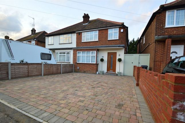 4 bed semi-detached house for sale in Crawford Road, Hatfield, Hertfordshire