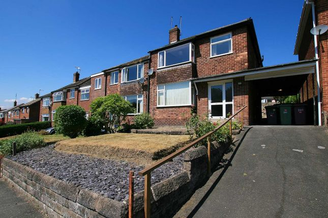 Thumbnail Semi-detached house for sale in Stonelow Road, Dronfield, Derbyshire