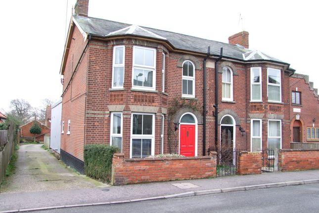 Thumbnail Semi-detached house for sale in Chapel Road, Saxmundham