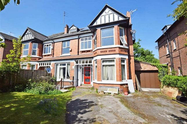 Thumbnail Semi-detached house for sale in Burton Road, West Didsbury, Manchester