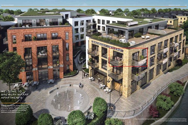 Thumbnail Flat for sale in Brewery Lane, Twickenham, London