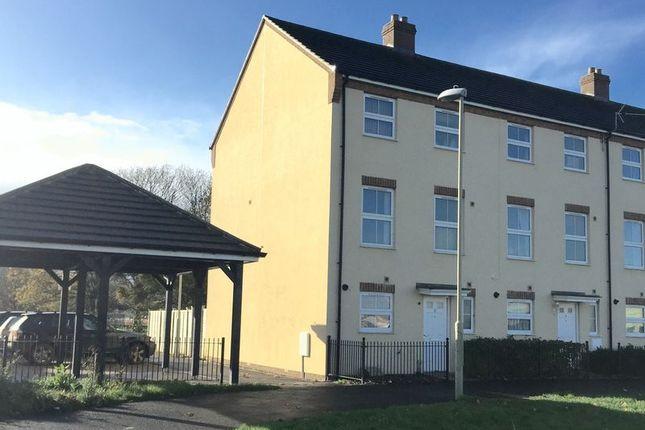 Thumbnail End terrace house to rent in Buckenham Walk Kingsway, Quedgeley, Gloucester