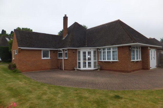 Thumbnail Detached bungalow for sale in Irnham Road, Four Oaks, Sutton Coldfield